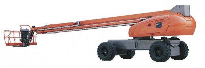 телескопические подъемники
