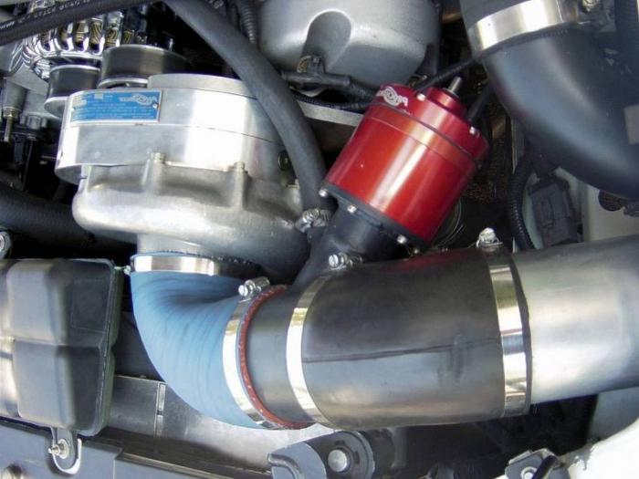 Перепускной клапан давления в автомобиле