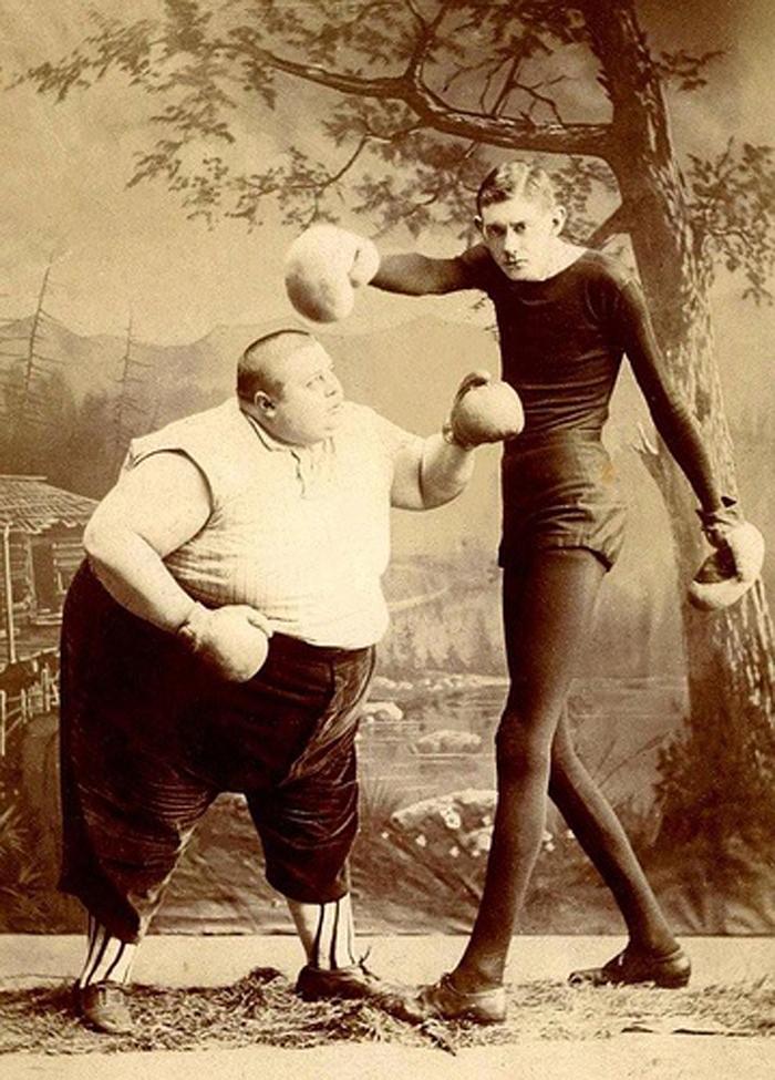 смешные фото худой и толстый