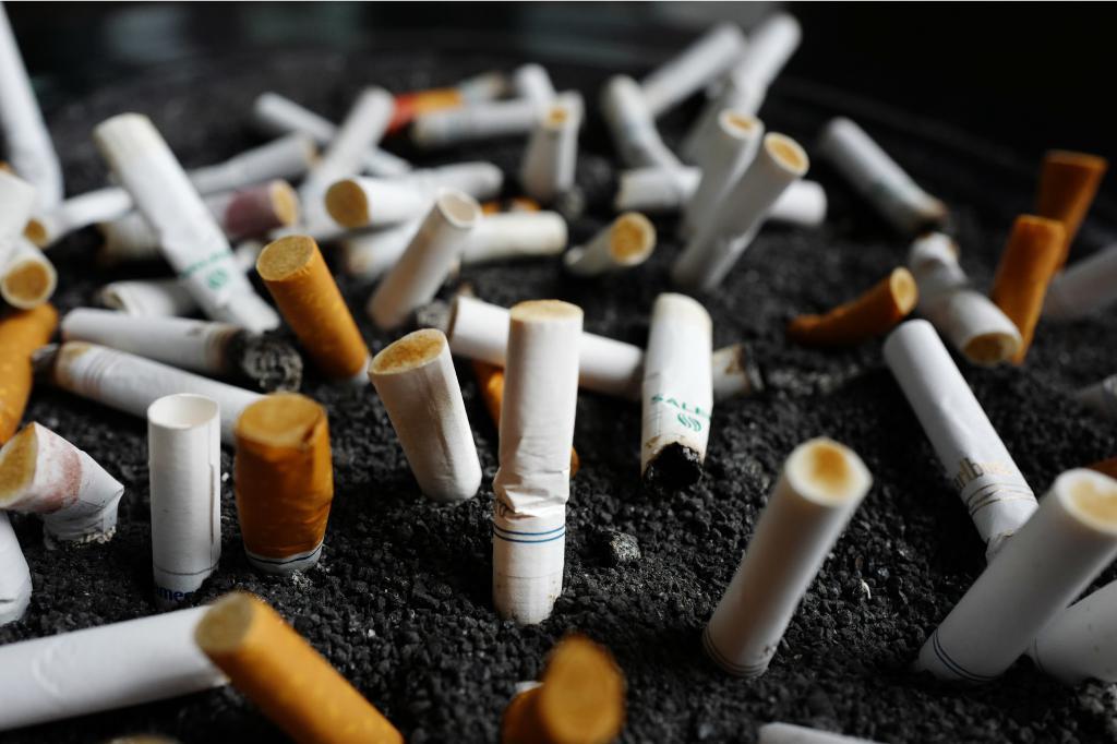 Снижается количество выкуриваемых сигарет