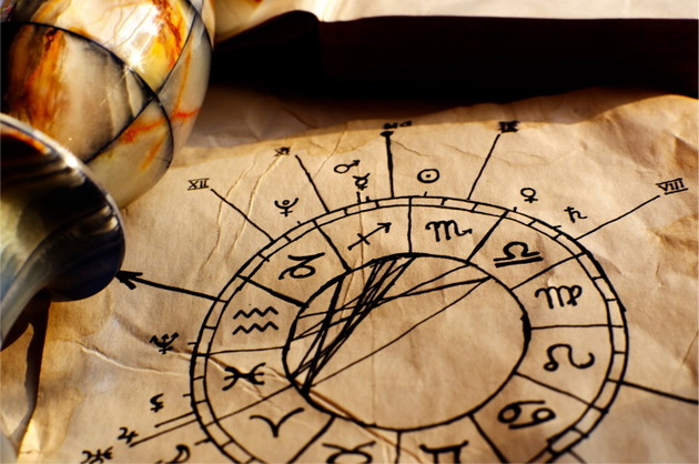 Astrological drawing