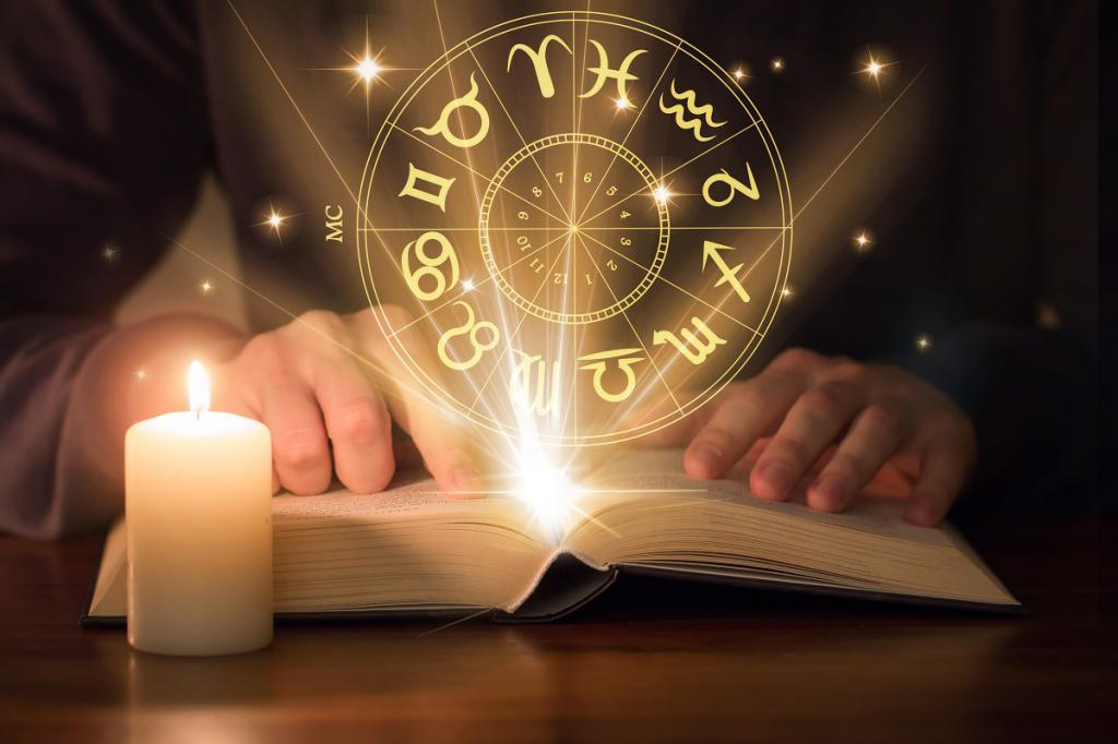 Reading horoscopes