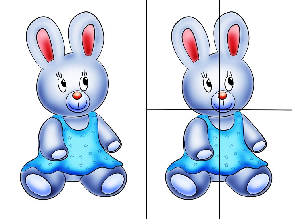 Разрезные картинки для детей 6-7 лет