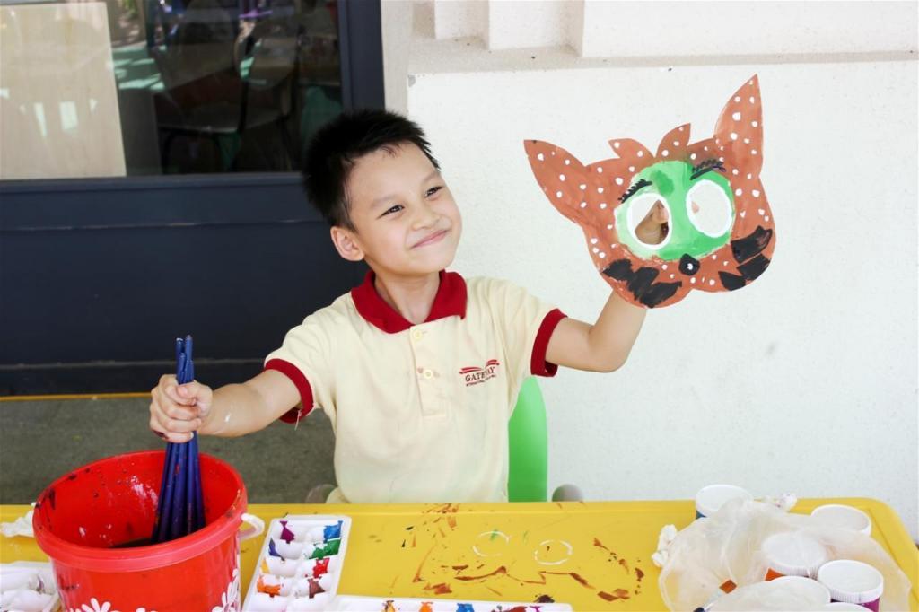 Talent for creating masks