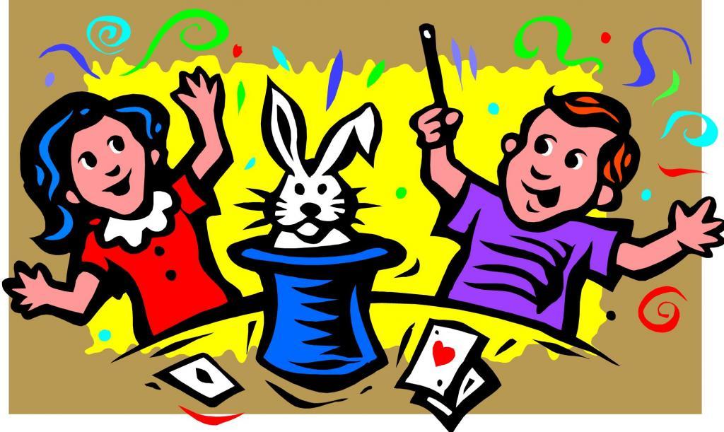 Talent for magic tricks