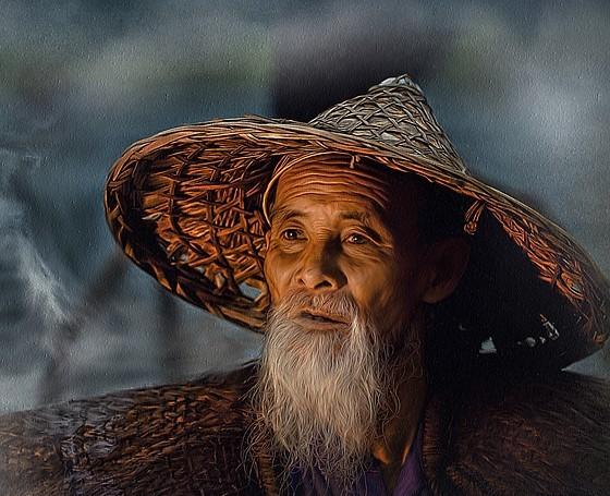 Китаец в шляпе