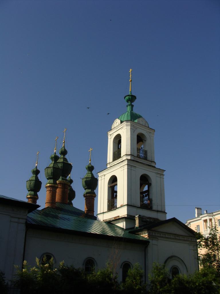 Православная церковь с колокольней