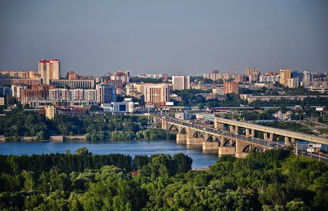 дорога от новосибирска до москвы