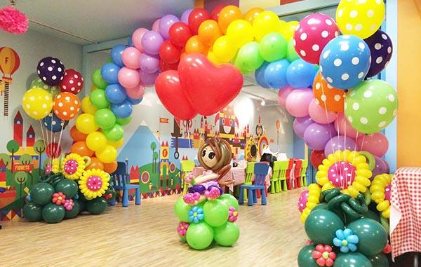 День рождения на воздушном шаре москва