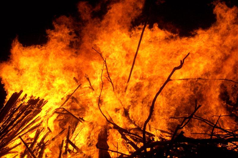 Пожары в Красноярске, пострадавшие от пожара