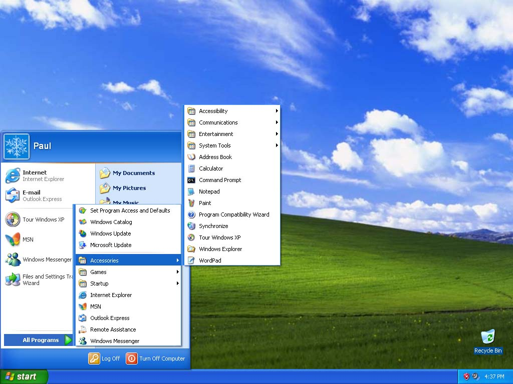 an introduction to the history of windows xp