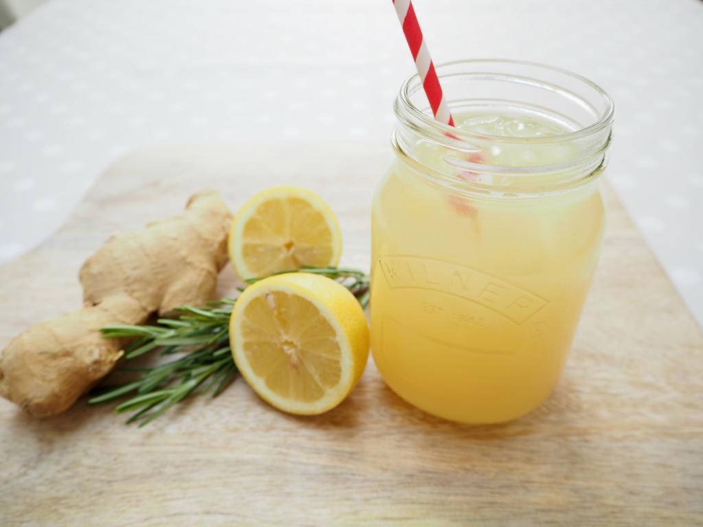 Лимонад с имбирем