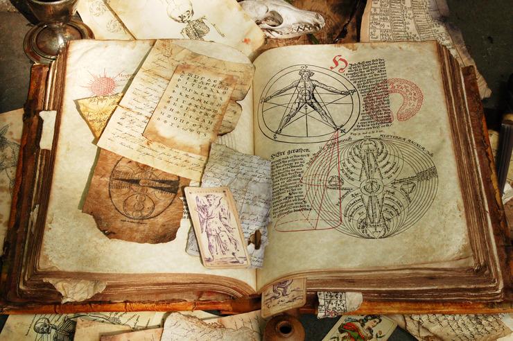 Древние магические картинки
