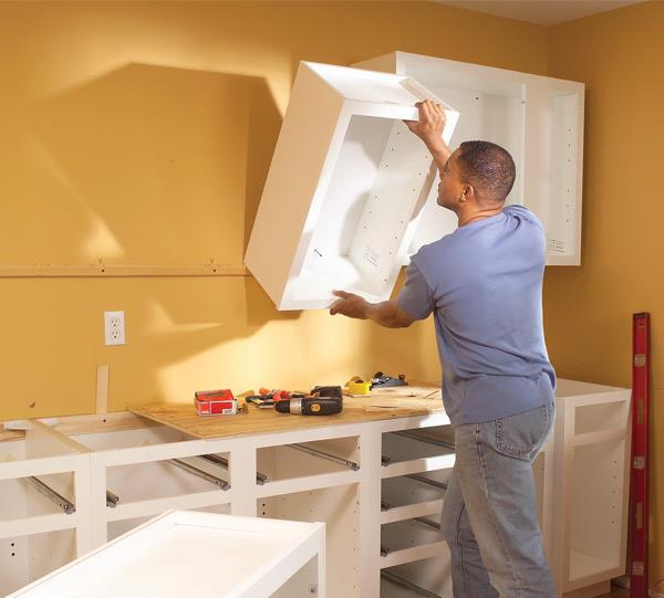 how to install a kitchen do it yourself
