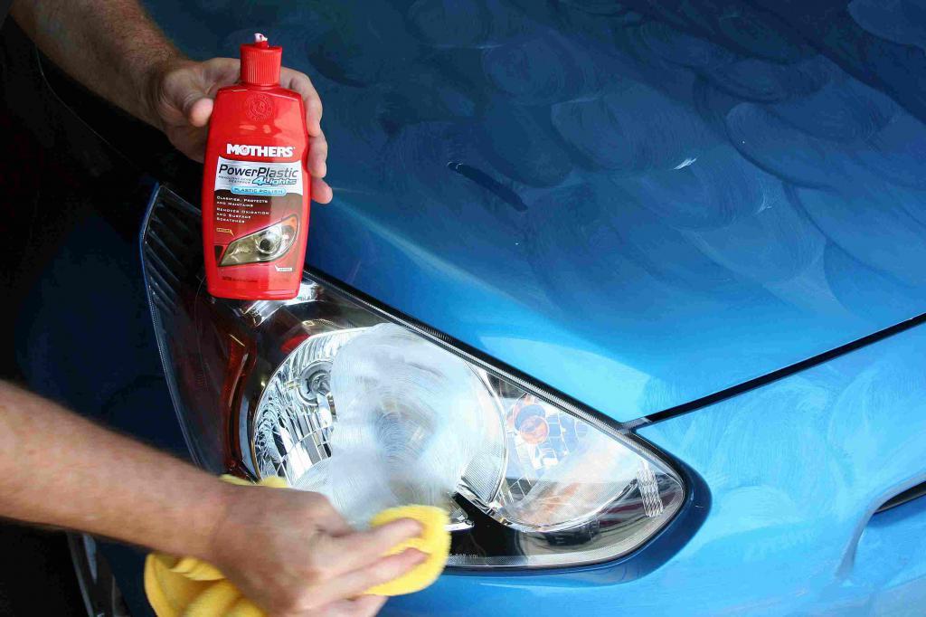 правильно полировать фары автомобиля