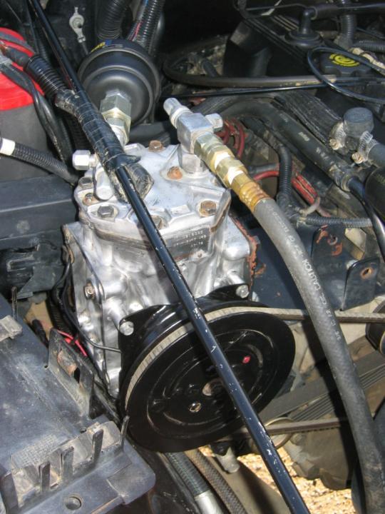 компрессор на двигатель
