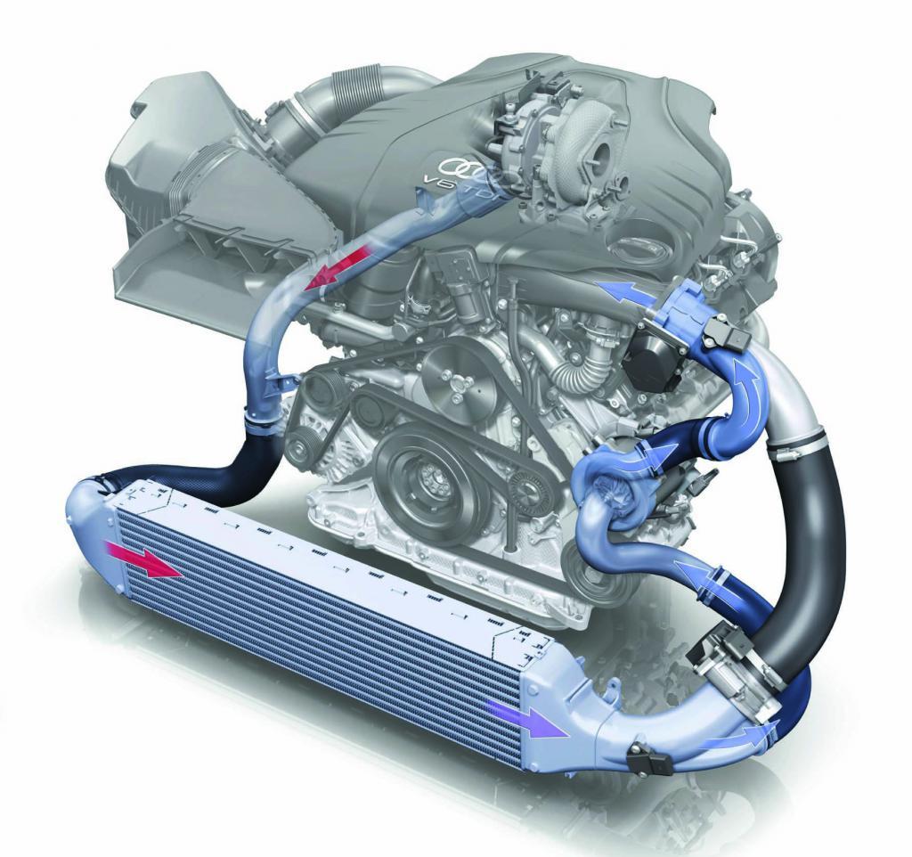 установить компрессор на двигатель