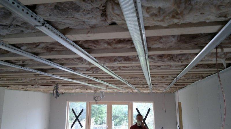как правильно панели пвх на потолок