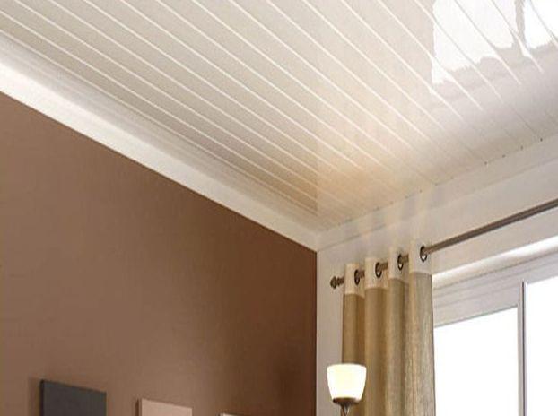 как правильно крепить пвх на потолок