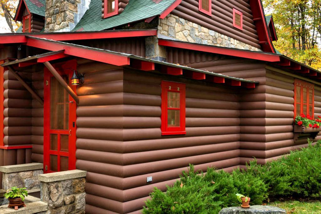 выбор как красиво покрасить деревянный дом фото боятся хвастаться своими