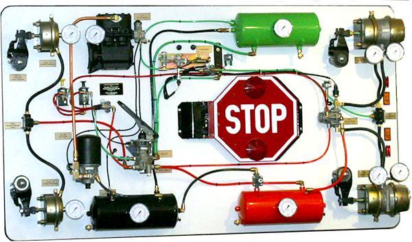 принцип работы тормозной системы камаз