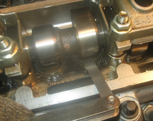 valve adjustment fret grant 8