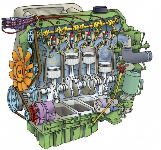 картер двигателя автомобиля