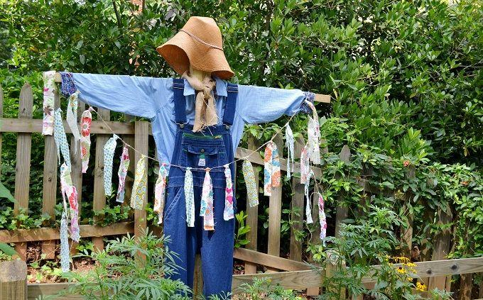 DIY stuffed garden photo