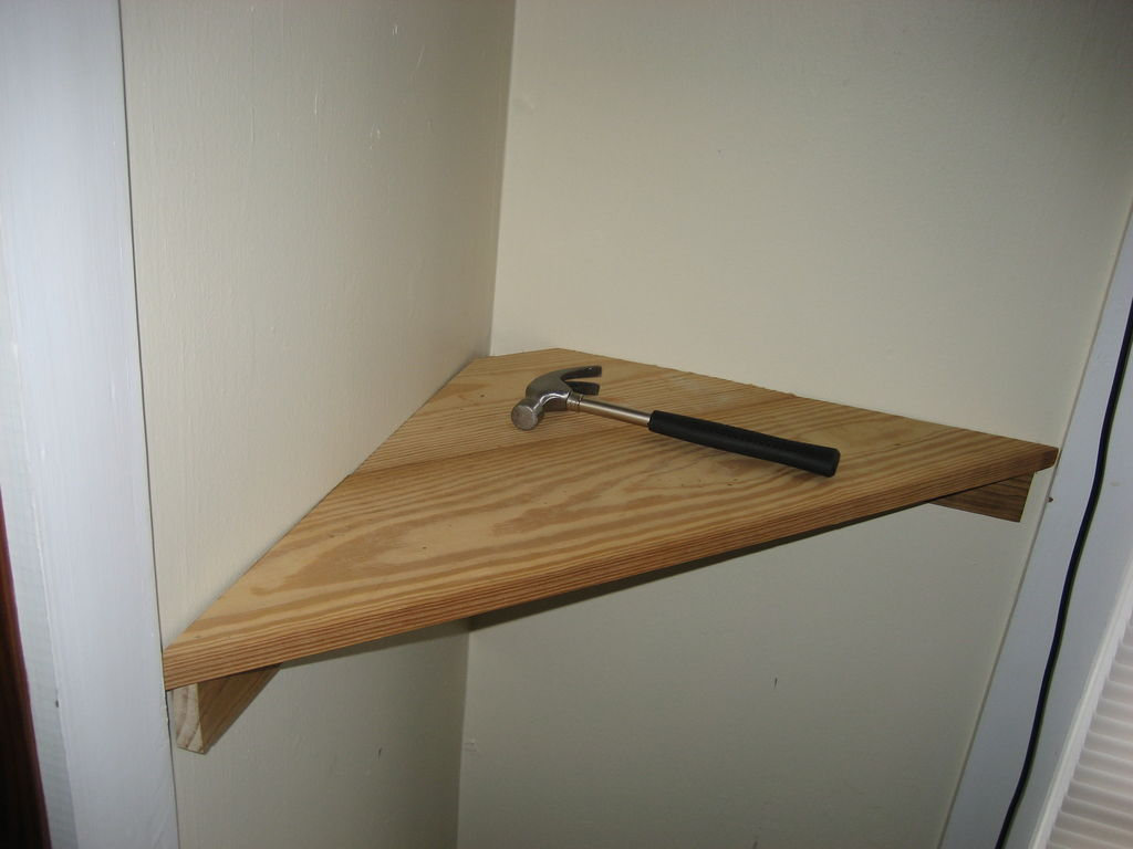 do-it-yourself shelf
