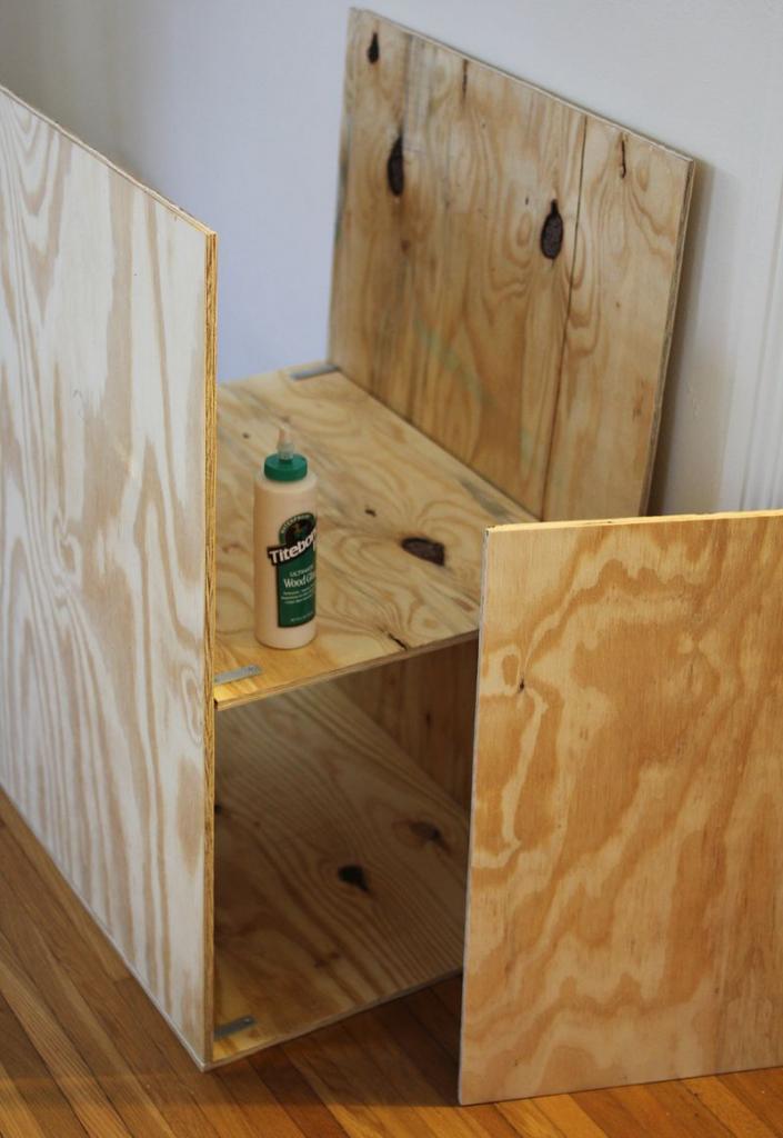how to assemble a shelf