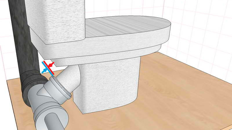 mounting the toilet lid