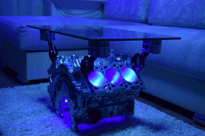 подсветка стола