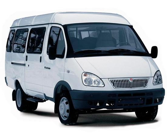Внешний вид автомобиля ГАЗ-322173