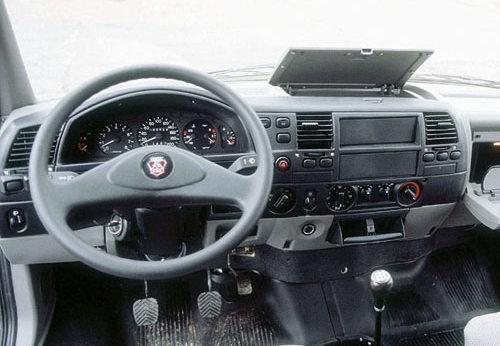 Салон автомобиля ГАЗ-322173