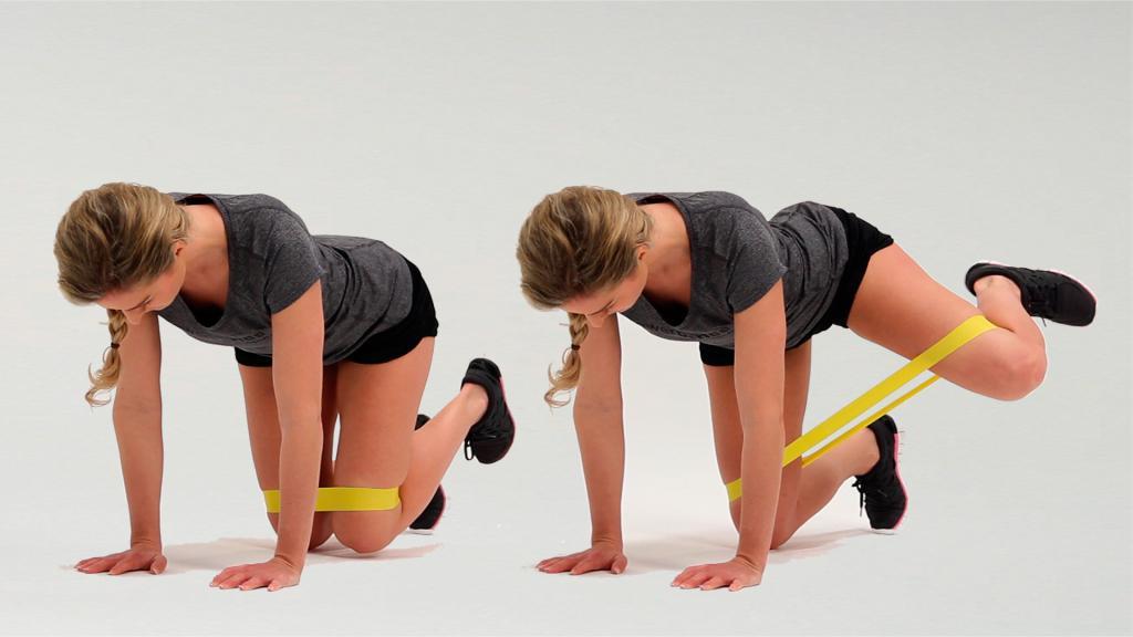 похудеть в ягодицах упражнения