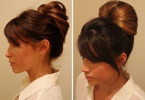 Пучок на длинные волосы своими руками: пошаговая инструкция с фото, советы стилистов