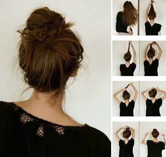 Небрежные прически на средние волосы: варианты на все случаи жизни, особенности выполнения, советы стилистов, фото