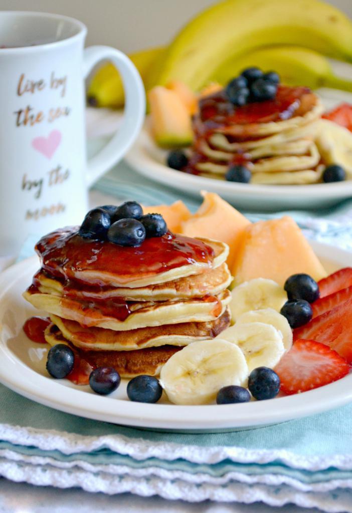 Завтрак с блинчиками картинки