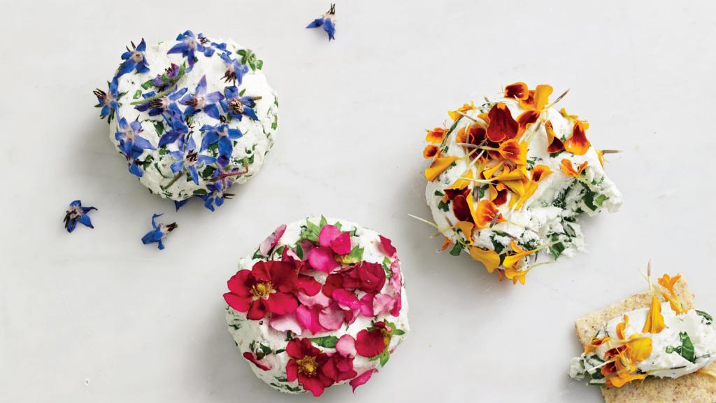 Многие цветы съедобны!