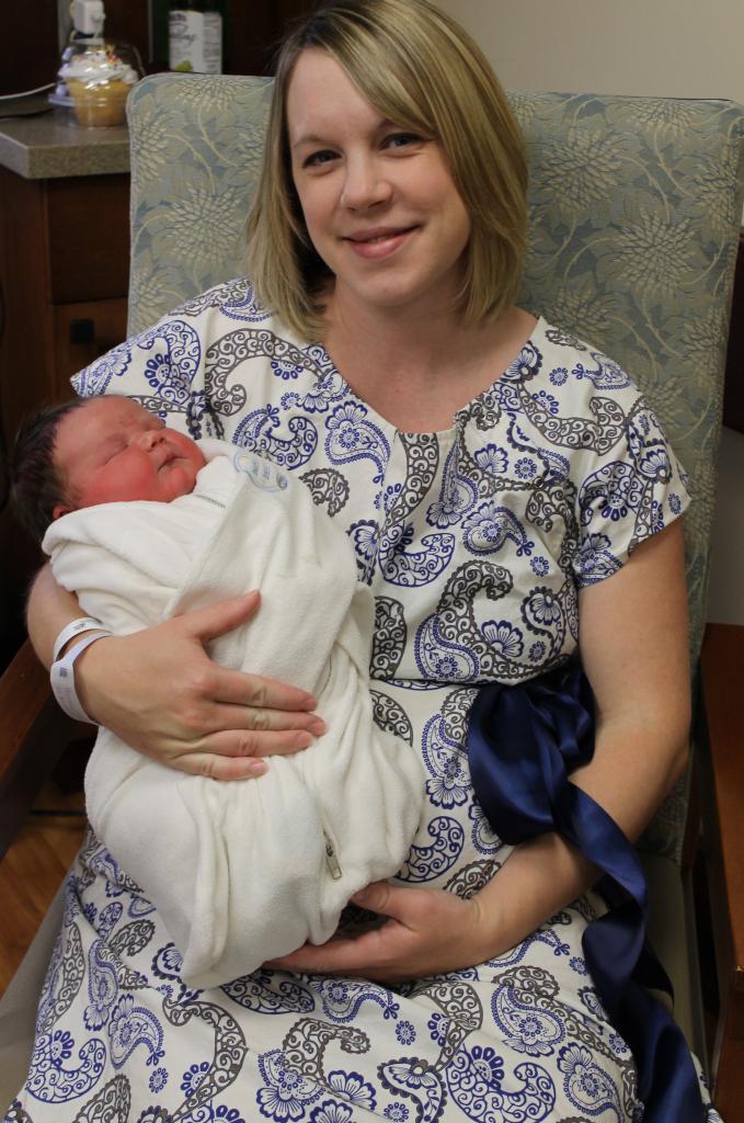 The joy of motherhood