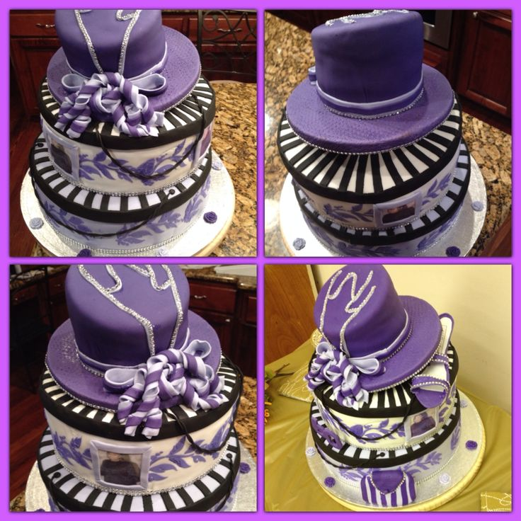 Two-color hat cakes