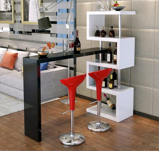 Bar counter - zone separator