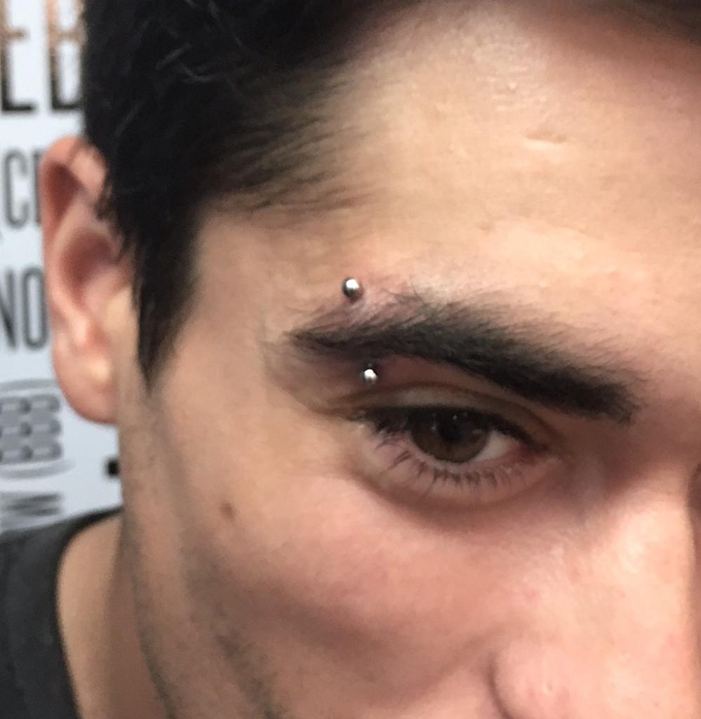 Angled Piercing