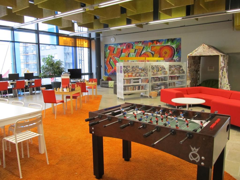 оформление детского зала в ВГБИЛ