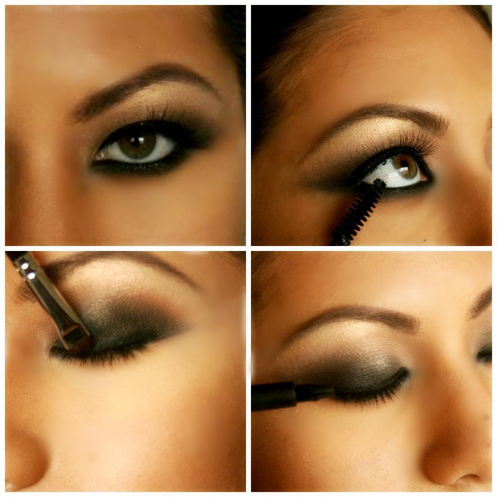 девочки макияж для увеличения глаз пошагово с фото даже