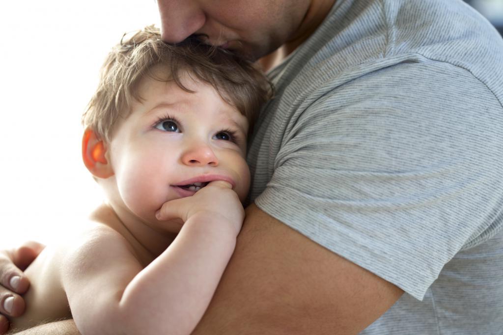 Отец и младенец картинки