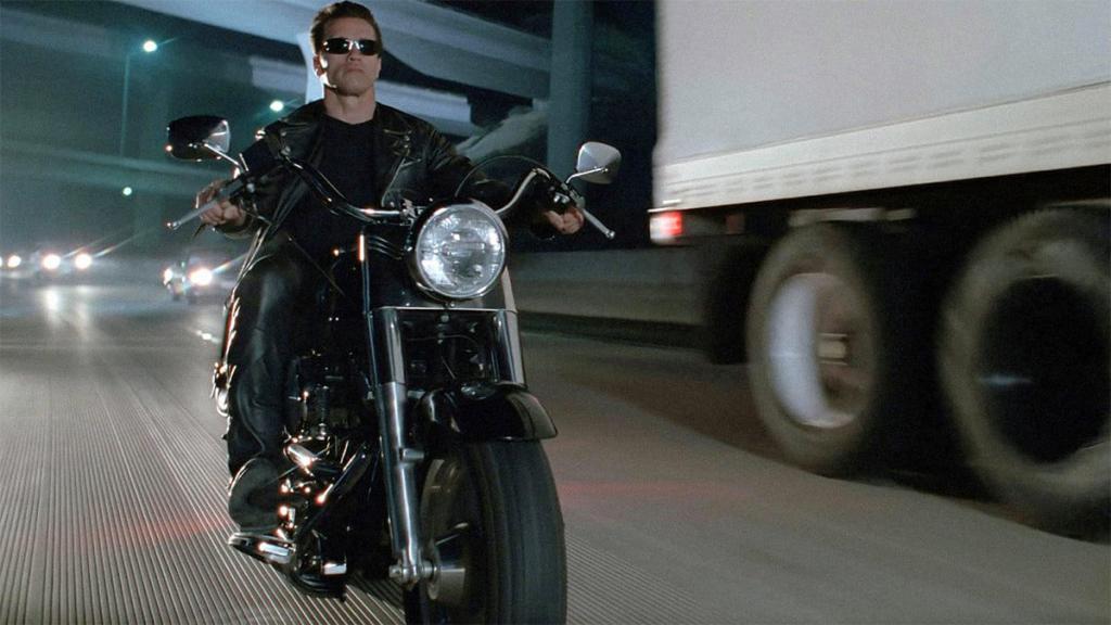 Мотоцикл Терминатора 2