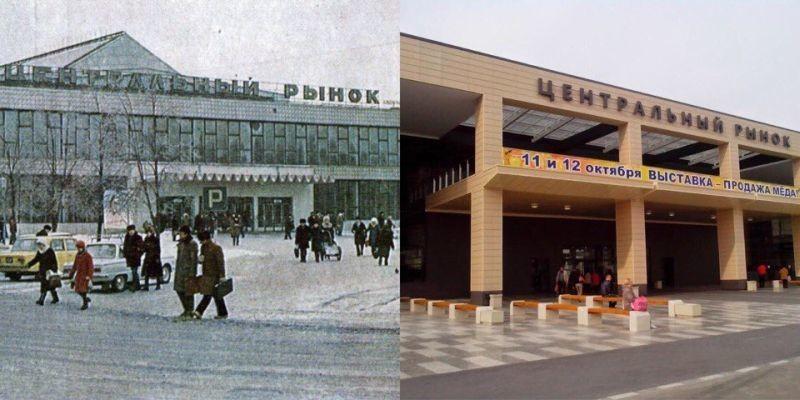 central market of Voronezh
