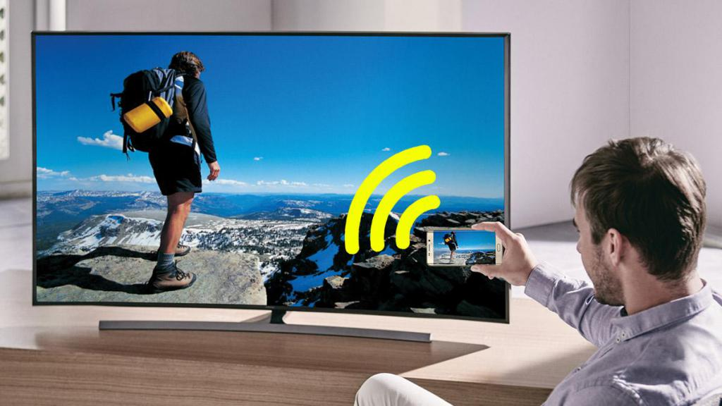 Как сделать телевизор через телефон 750