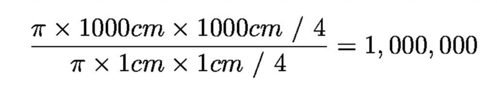 Формула объектива телескопа